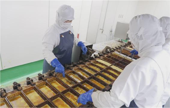 厚焼玉子の製造工程